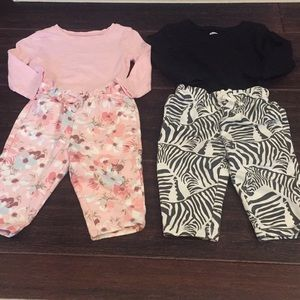 Girl baby gap sets